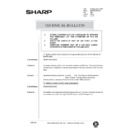 Sharp AR-285 (serv.man139) Technical Bulletin
