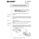Sharp AR-285 (serv.man146) Technical Bulletin