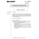 Sharp AR-285 (serv.man148) Technical Bulletin