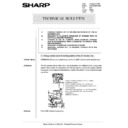 Sharp AR-285 (serv.man152) Technical Bulletin