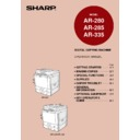 Sharp AR-285 (serv.man34) User Guide / Operation Manual