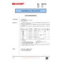 Sharp AR-285 (serv.man74) Technical Bulletin