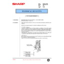 Sharp AR-285 (serv.man75) Technical Bulletin
