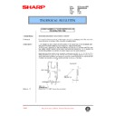 Sharp AR-285 (serv.man80) Technical Bulletin