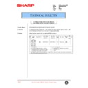 Sharp AR-285 (serv.man94) Technical Bulletin