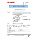 Sharp AR-285 (serv.man96) Technical Bulletin