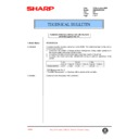 Sharp AR-285 (serv.man98) Technical Bulletin