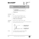Sharp AR-286 (serv.man100) Technical Bulletin