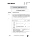 Sharp AR-286 (serv.man104) Technical Bulletin