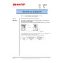Sharp AR-286 (serv.man24) Technical Bulletin