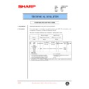Sharp AR-286 (serv.man25) Technical Bulletin
