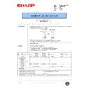 Sharp AR-286 (serv.man39) Technical Bulletin