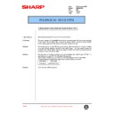 Sharp AR-286 (serv.man53) Technical Bulletin