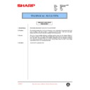 Sharp AR-286 (serv.man58) Technical Bulletin