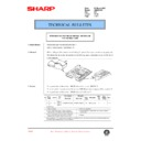 Sharp AR-286 (serv.man91) Technical Bulletin