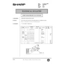 Sharp AR-286 (serv.man92) Technical Bulletin