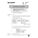 Sharp AR-286 (serv.man93) Technical Bulletin