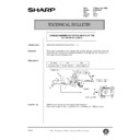 Sharp AR-336 (serv.man101) Technical Bulletin