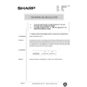 Sharp AR-336 (serv.man105) Technical Bulletin