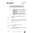Sharp AR-336 (serv.man108) Technical Bulletin