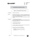 Sharp AR-336 (serv.man109) Technical Bulletin