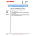 Sharp AR-336 (serv.man25) Technical Bulletin