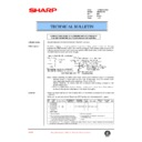 Sharp AR-336 (serv.man31) Technical Bulletin