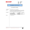 Sharp AR-336 (serv.man50) Technical Bulletin