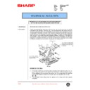 Sharp AR-336 (serv.man58) Technical Bulletin