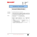 Sharp AR-336 (serv.man60) Technical Bulletin