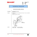 Sharp AR-336 (serv.man63) Technical Bulletin