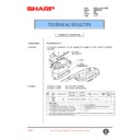 Sharp AR-336 (serv.man65) Technical Bulletin