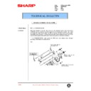 Sharp AR-336 (serv.man66) Technical Bulletin