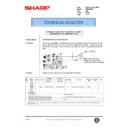 Sharp AR-336 (serv.man71) Technical Bulletin