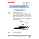 Sharp AR-336 (serv.man72) Technical Bulletin