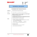 Sharp AR-336 (serv.man76) Technical Bulletin
