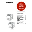 Sharp AR-336 (serv.man8) User Guide / Operation Manual