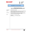 Sharp AR-336 (serv.man83) Technical Bulletin