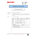 Sharp AR-336 (serv.man92) Technical Bulletin