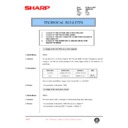 Sharp AR-336 (serv.man93) Technical Bulletin
