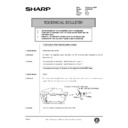Sharp AR-336 (serv.man97) Technical Bulletin