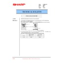 Sharp AR-407 (serv.man25) Technical Bulletin