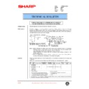 Sharp AR-407 (serv.man30) Technical Bulletin