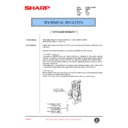 Sharp AR-407 (serv.man49) Technical Bulletin