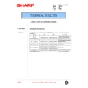 Sharp AR-407 (serv.man61) Technical Bulletin