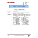 Sharp AR-407 (serv.man62) Technical Bulletin