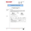 Sharp AR-407 (serv.man66) Technical Bulletin