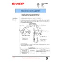 Sharp AR-407 (serv.man68) Technical Bulletin