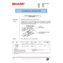 Sharp AR-407 (serv.man69) Technical Bulletin