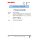 Sharp AR-407 (serv.man70) Technical Bulletin